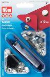 PRYM fém patent (12 mm, ezüst)