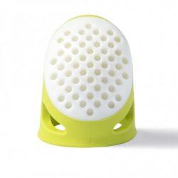 PRYM ergonomikus gyűszű (L-es, neon zöld)