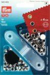 PRYM fém ringli (4 mm, ezüst)