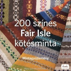 200 színes Fair Isle kötésminta - Mintagyűjtemény