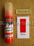 Piros (matt), 20 ml