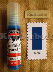 Kék (matt), 20 ml