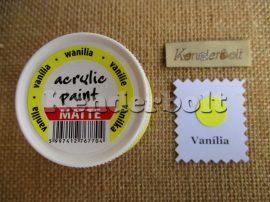 Vanília (matt), 50 ml