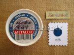 Kék (metál), 50 ml