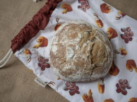 Péksüteményes zsák (kenyeres)