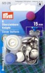 PRYM behúzható gomb, szerszámmal (15 mm)