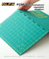 OLFA összehajtható vágóalátét (60*43 cm)