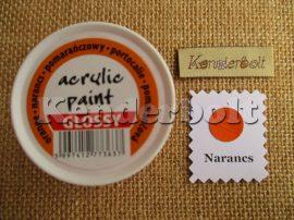Narancs (fényes), 50 ml