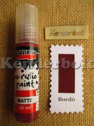 Bordó (matt), 20 ml