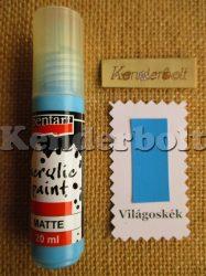 Világoskék (matt), 20 ml