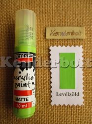 Levélzöld (matt), 20 ml